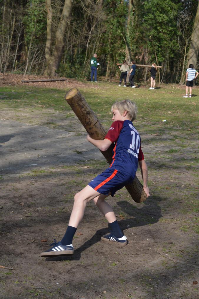 Highland games op internaat