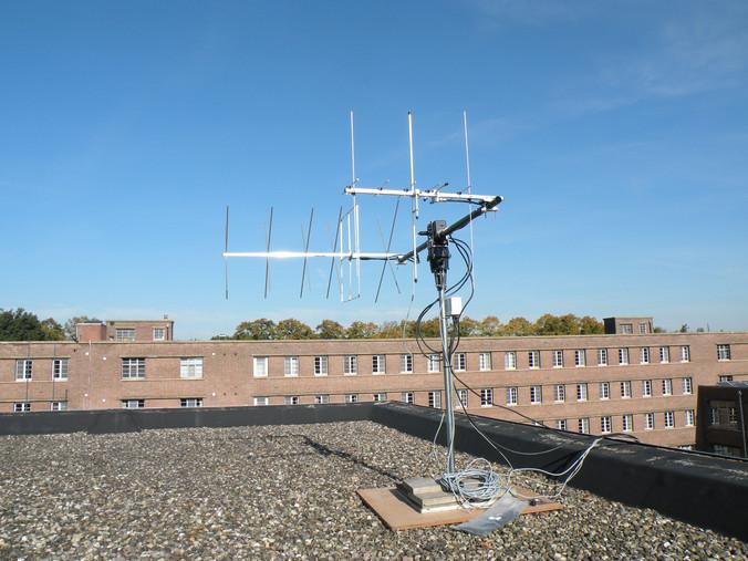Voorbereiding radiocontact met ISS