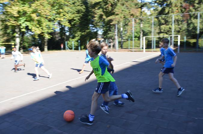 Finale klassencompetitie koervoetbal