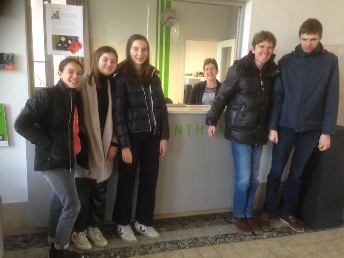 Bezoek vriendenhuis Schilde
