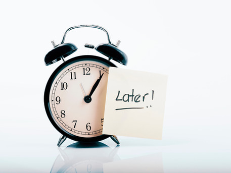 Why can't I stop procrastinating? 12 reasons why you keep procrastinating and how you can stop.