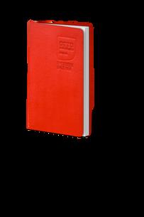Schreibbuch mit Blindprägung