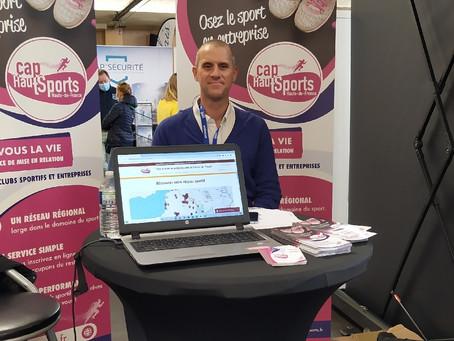 Cap HautSports présent aux 9e rencontres Entreprises et Territoires de Calais