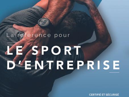 Présentation de la plateforme @work de la Fédération Française Sport d'Entreprise