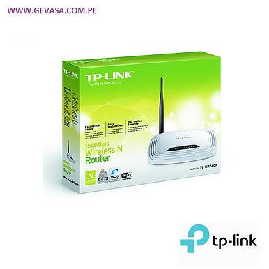 Router inalámbrico N a 150 Mbps