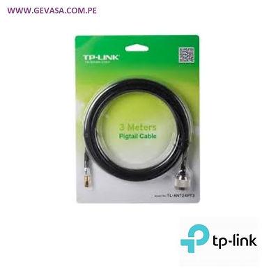 Pigtail Antena N M / RP-SMA M 3 MT 2.4 Ghz