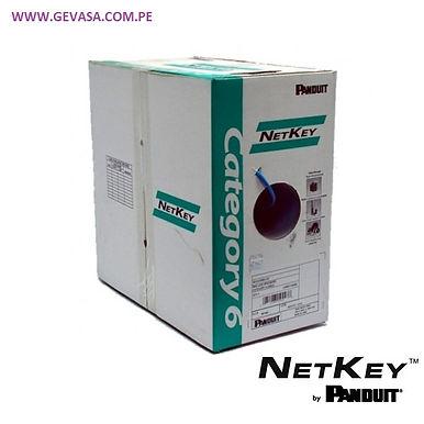 CABLE UTP CAT.6 Solido AZUL LSZH-1