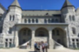 新潟医療福祉大学作業療法学科 国際交流 海外施設見学 カナダ Queen's大学 キャンパスツアー