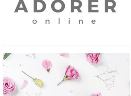 ADORER online(アドレ・オンライン)オープン!