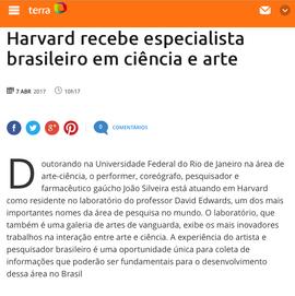 Portal Terra Harvard