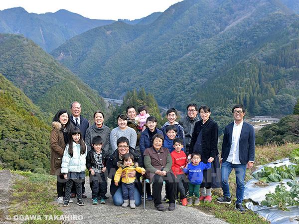 お正月のご家族写真
