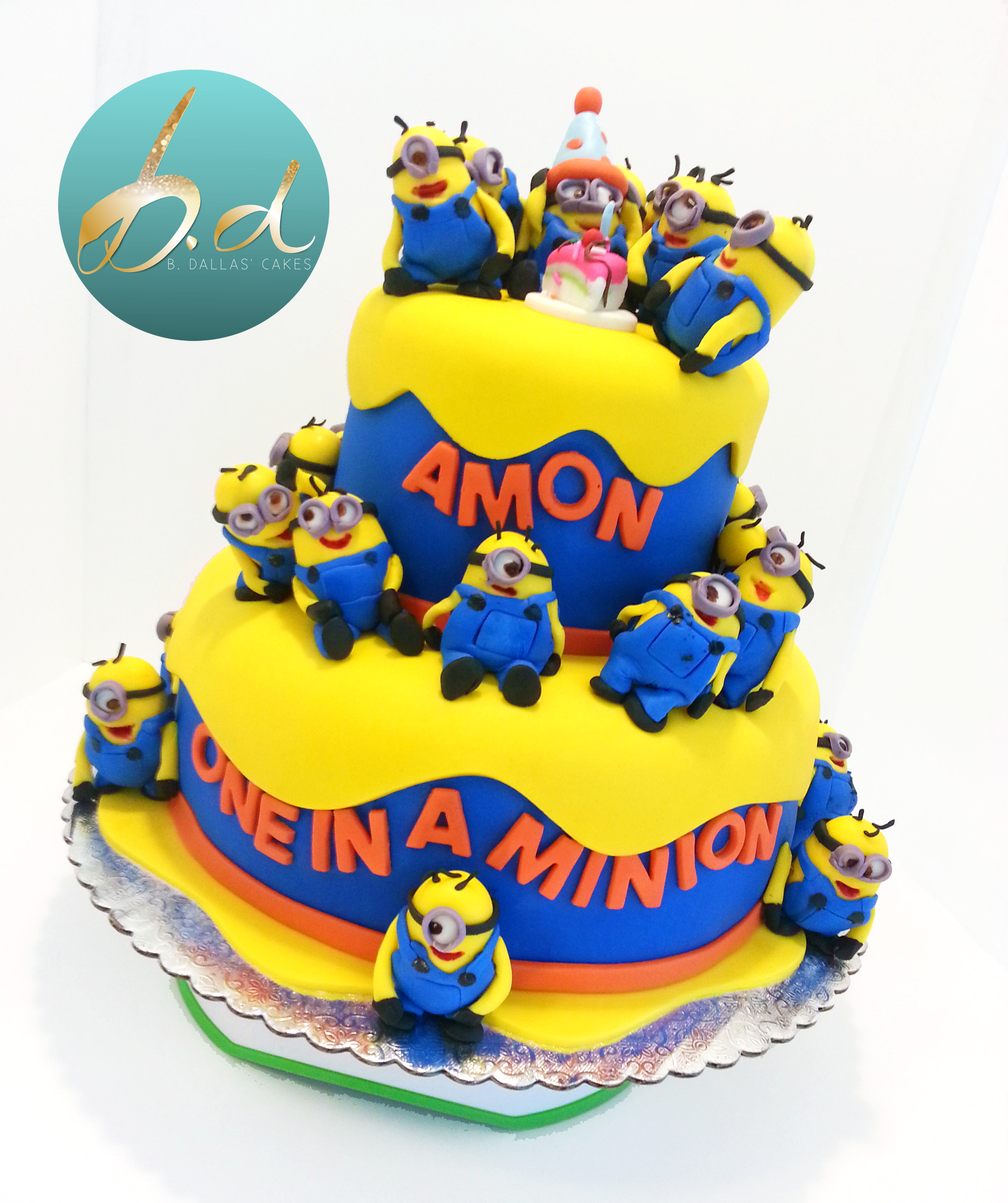 ONE IN A MINION CAKE