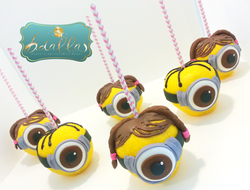 MINION CANDY APPLES 2