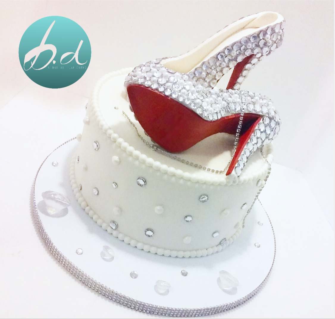RED BOTTOMS CAKE
