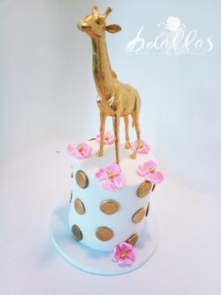 GIRAFFE POLKA DOT CAKE