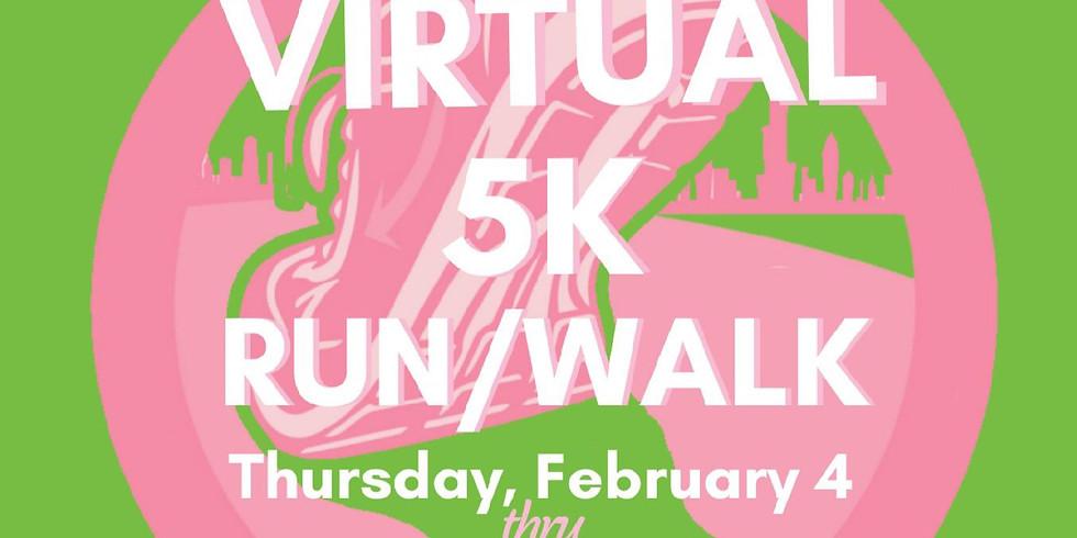 Virtual 5K Run/ Walk