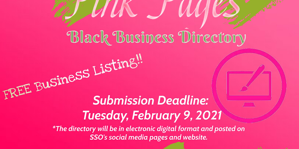 Pink Page Black Business Directory