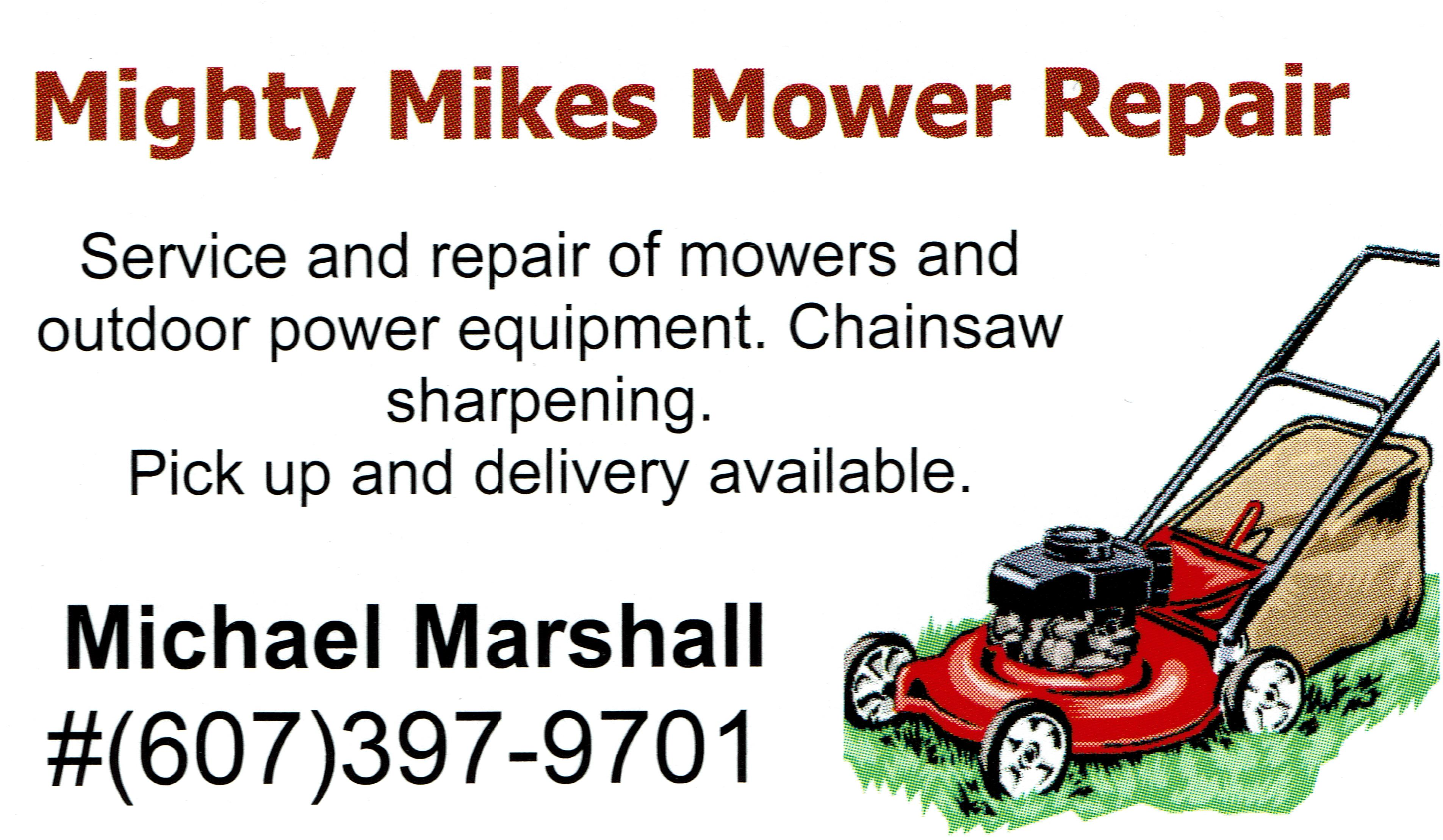 Mighty Mikes Mower Repair
