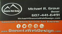 Oneonta Web Design