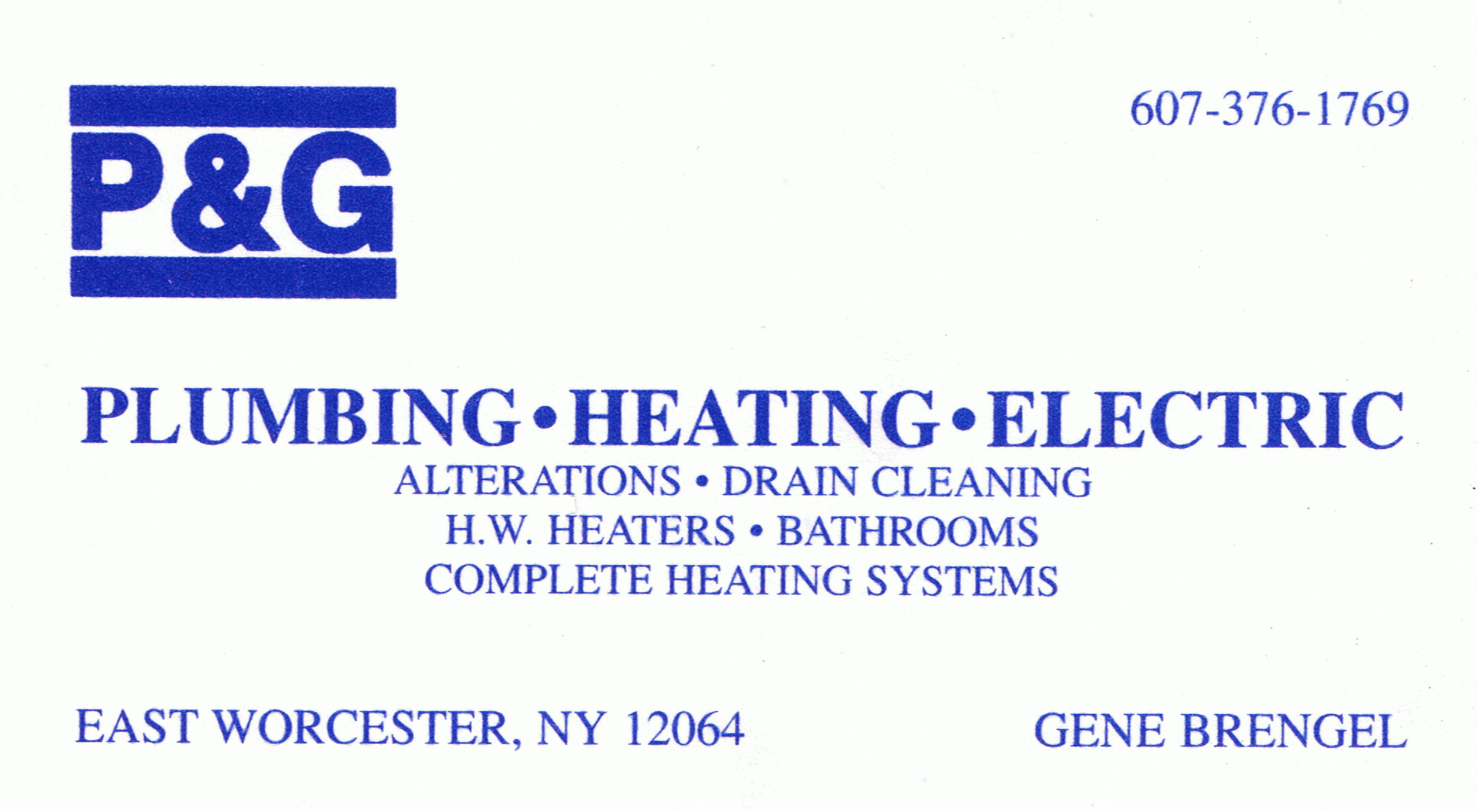 P&G Plumbing & Heating