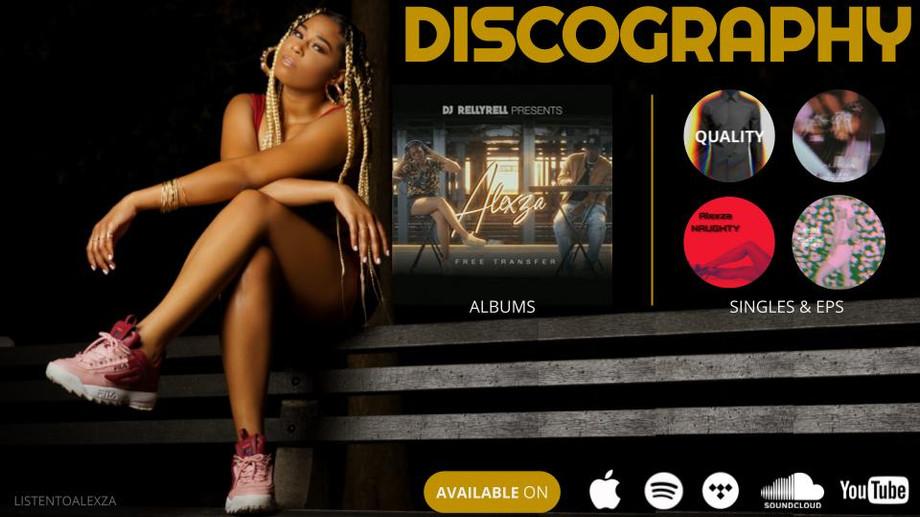 Alexza Discography