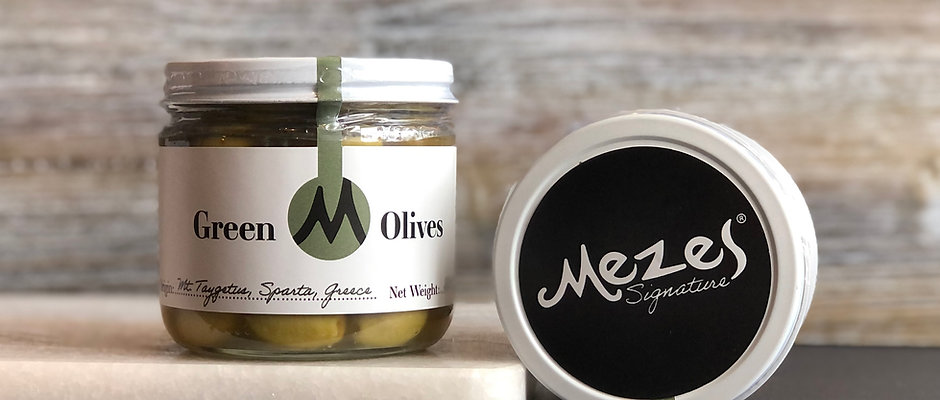 Mezes Signature Green Olives