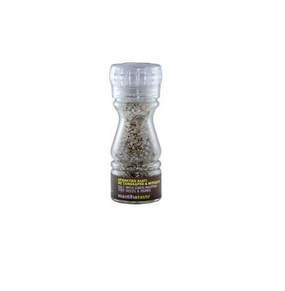 Salt with Chios Mastiha Tree Seeds & Herbs