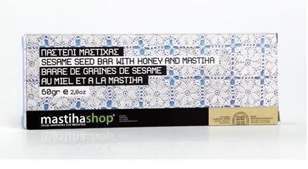 Sesame Seed Bar with Honey and Chios Mastiha