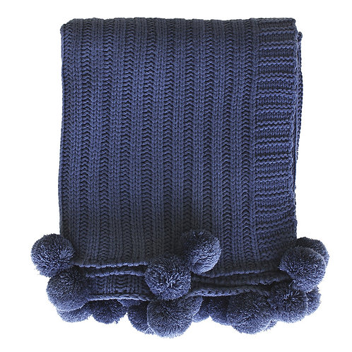 Arden Navy Throw