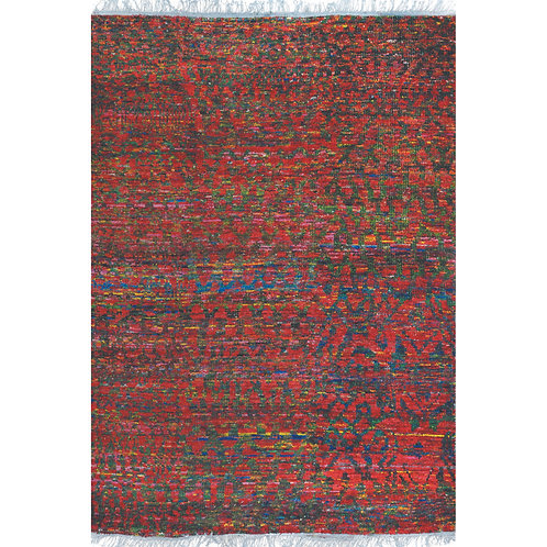Richmond Red Multi 160x230cm Floor Rug
