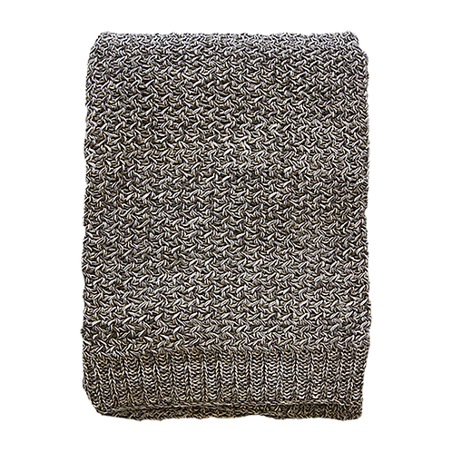 Odette Taupe Throw