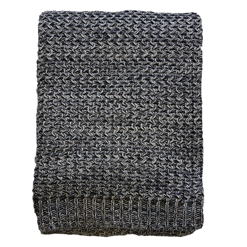 Odette Charcoal Throw