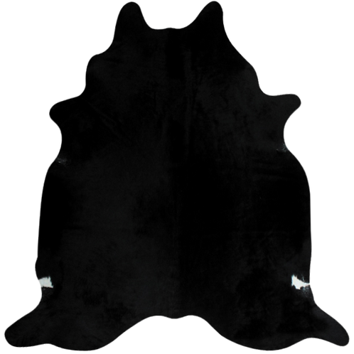 Classic Solid Black Cowhide