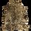 Thumbnail: Cowhide Metallic Gold/Dyed Black
