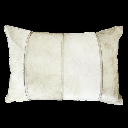 Del Rio Stripe Cowhide Cushion Cover