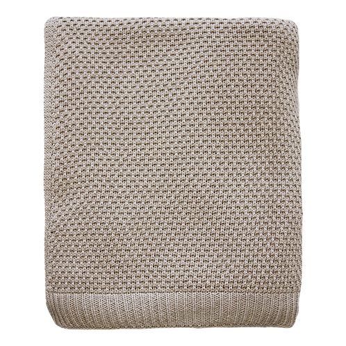 Palomar Light Taupe Throw