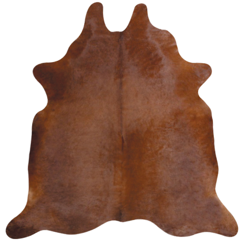 Classic Solid Brown Cowhide