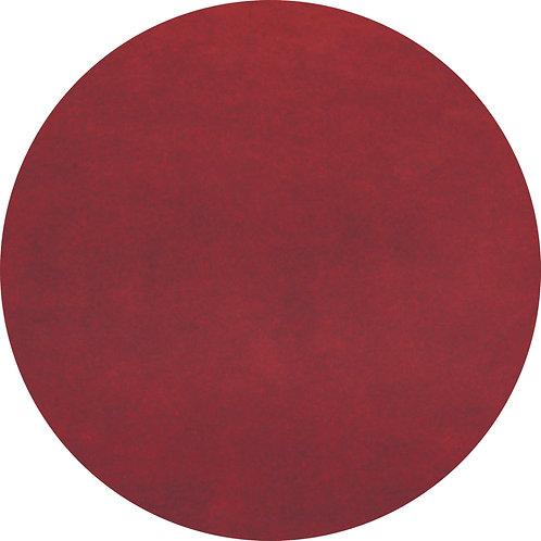 Chicago Deep Red 1.7m dia Rug