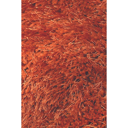 Spectrum Shag Burnt Orange 160x230cm Floor Rug