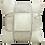 Thumbnail: Del Rio Check Cowhide Cushion Cover