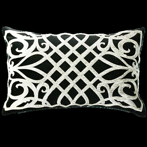 Louisiana Cowhide Cushion Cover