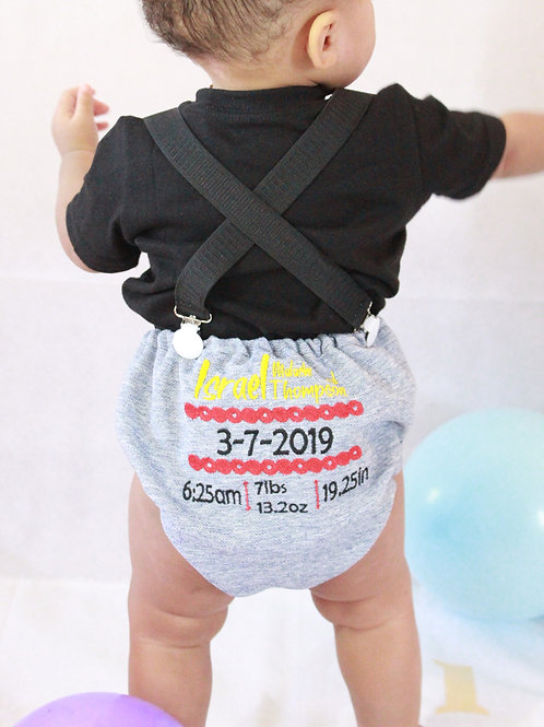 Birth Announcement Diaper Covers