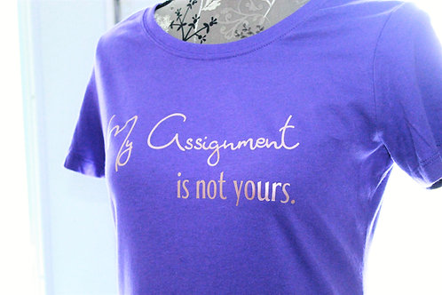 My Assignment is not yours. T-shirt