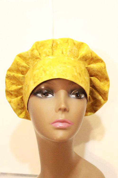 Golden tone surgical cap