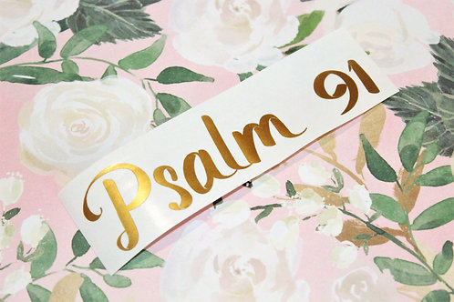 Psalm 91 Decal