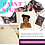 Thumbnail: PAINTABLE CANVAS TOTE KIT