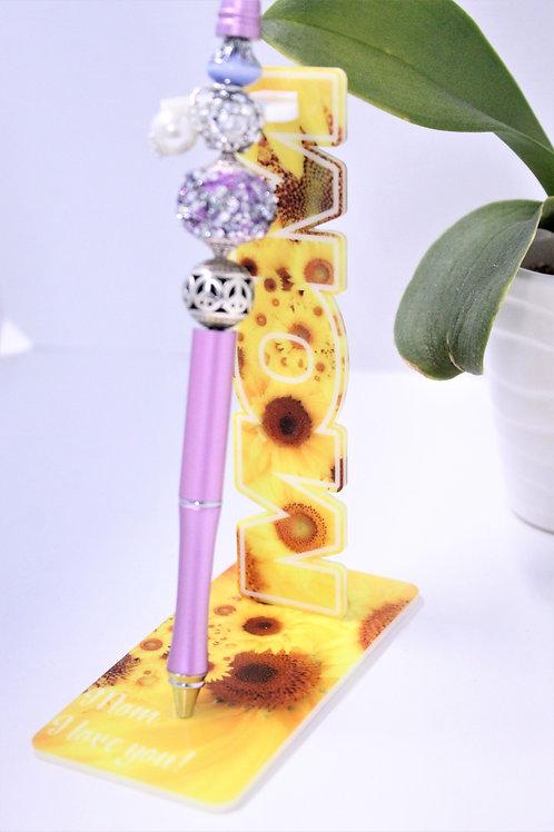 MOM pen holder