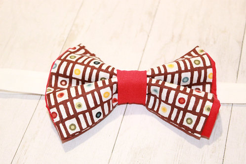 Tribal bow tie