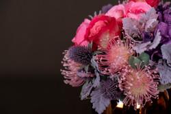 Faux Vase Arrangement bright mix close u