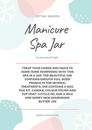 Manicure Spa Jar